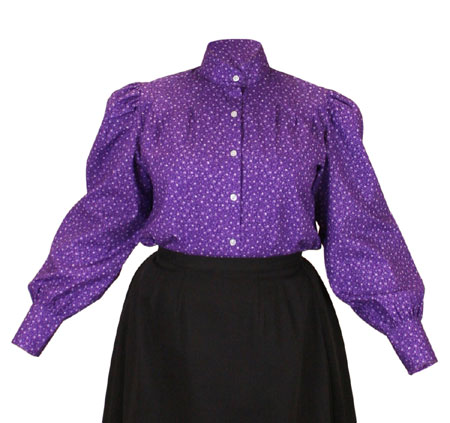 Penelope Blouse - Purple