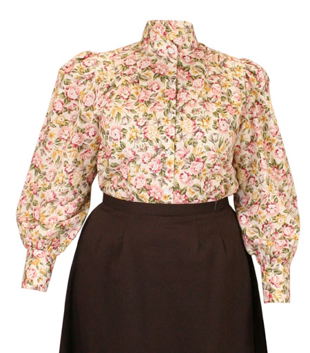 Somerset Blouse - Antique Floral