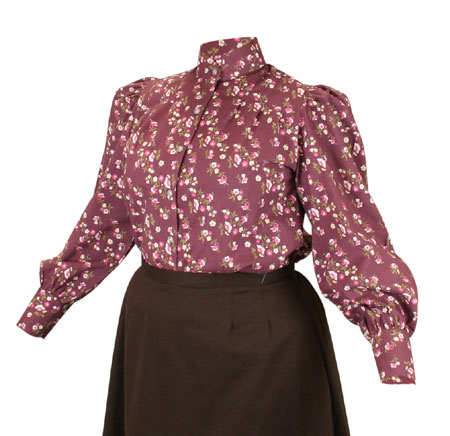 Somerset Blouse - Plum
