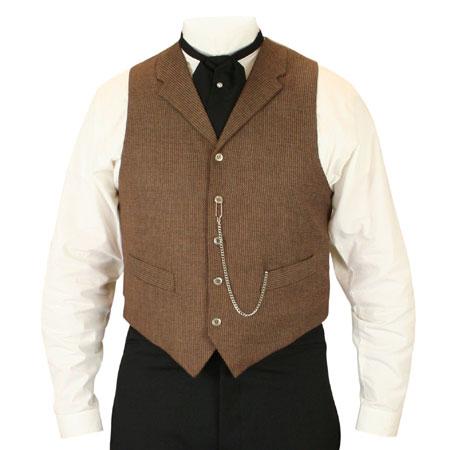 Garland Vest - Brown