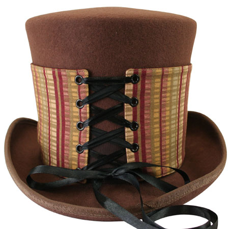 Reversible Hat Spat (Tall) - Bailey/Crimson