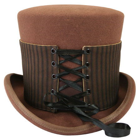 Vintage Mens Brown,Tan Cotton Spats | Romantic | Old Fashioned | Traditional | Classic || Reversible Hat Spat (Tall) - Ferndale/Wheat