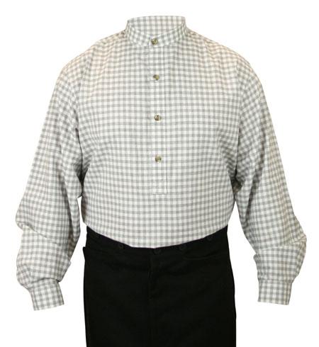 Blanchard Shirt - Gray Check