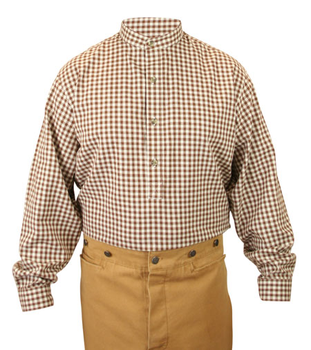 Blanchard Shirt - Brown Check