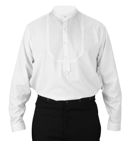 Rossmore Band Collar Shirt