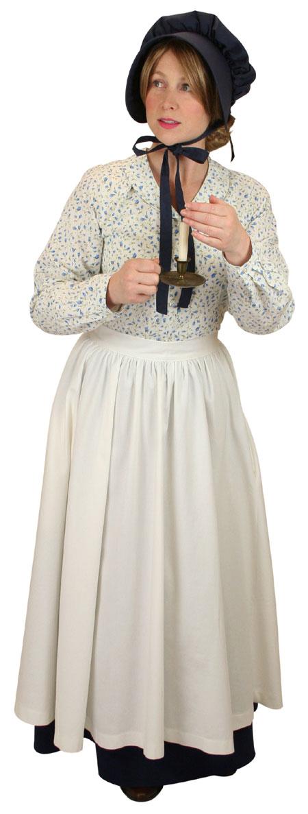 Vintage Ladies Blue Solid Bonnet   Romantic   Old Fashioned   Traditional   Classic    Clarissa Bonnet - Blue Satin