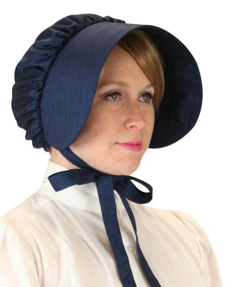 Clarissa Bonnet - Blue Satin