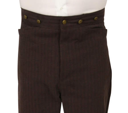 Monford Trousers - Burnt Umber