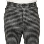 Mosley Trousers - Black Plaid