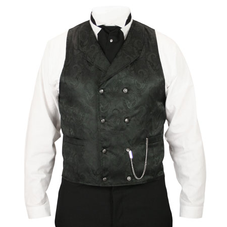 Godfrey double breasted vest
