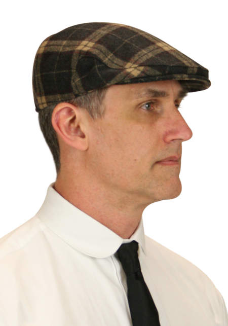 Ivy Cap - Brown Donegal Tweed