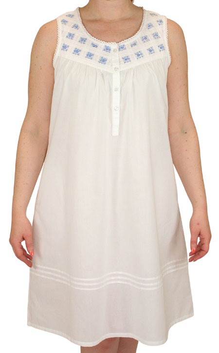 Blossom Ladies Cotton Nightgown