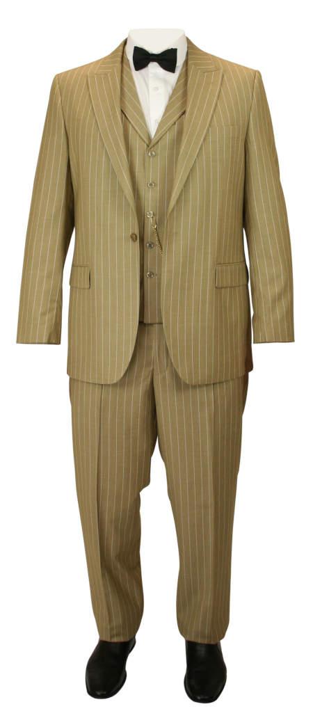 Guthrie Suit - Tan Stripe