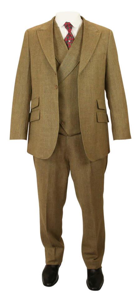 Dayton Suit - Brown Wool