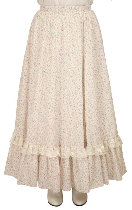 Millie Skirt - Pink Floret