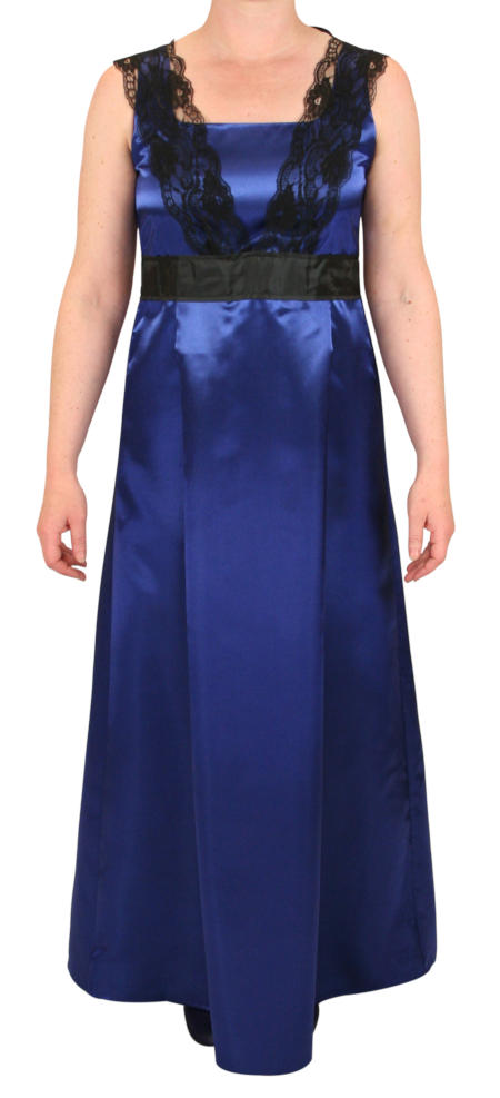 Alexandra Edwardian Dress - Royal Blue