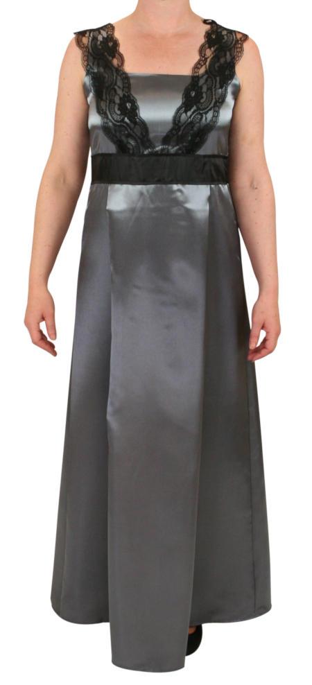 Alexandra Edwardian Dress - Silver