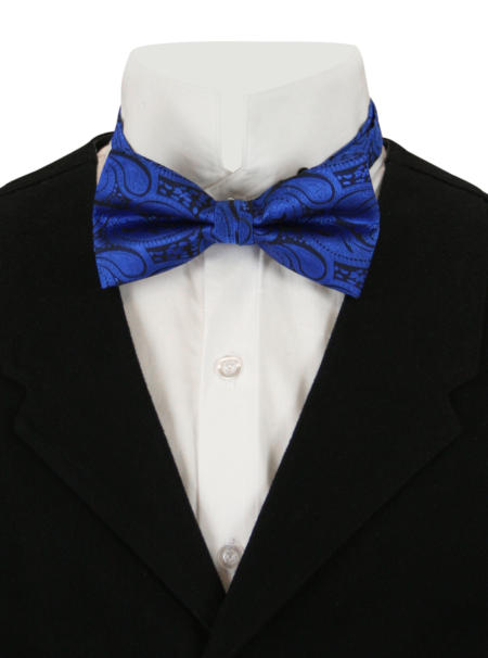 Blissful Bow Tie - Royal Paisley