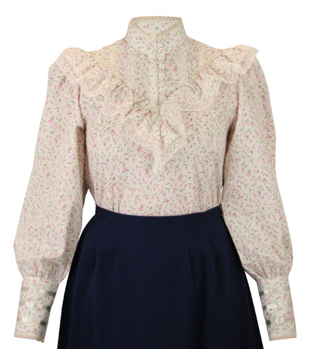 Weddington Blouse - Pink Floret