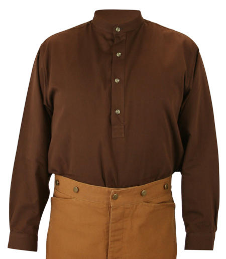 Zebulon Work Shirt - Brown