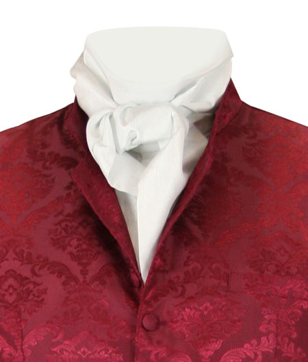 Regal Cravat - White