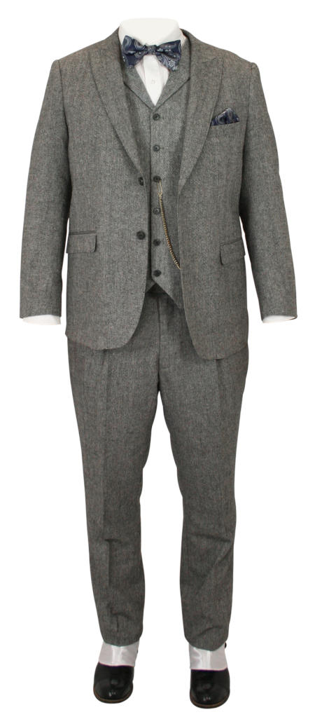Buckland Suit - Black Tweed