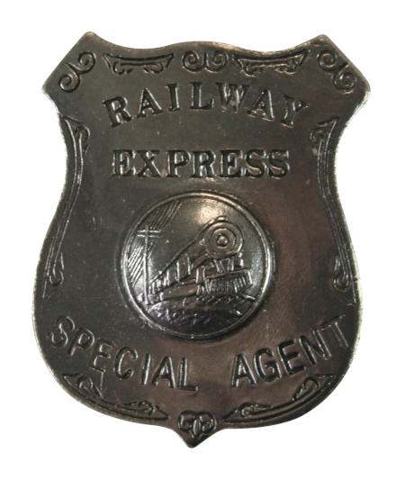 Old West Badge - Railway Express