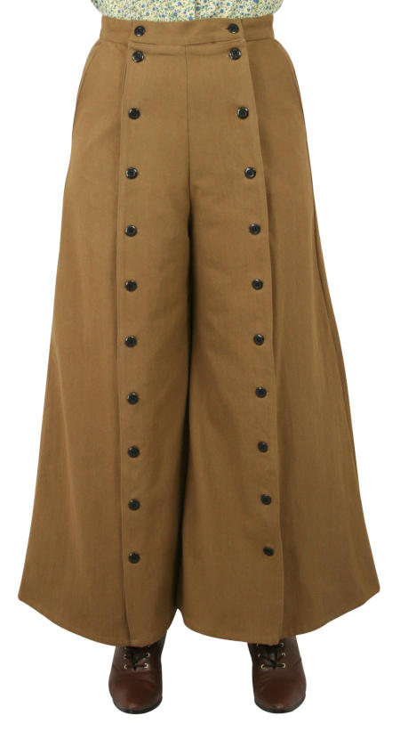 Classic Convertible Riding Skirt - Brown