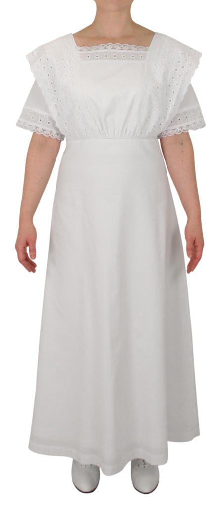 Winnifred Suffragist  Dress - White