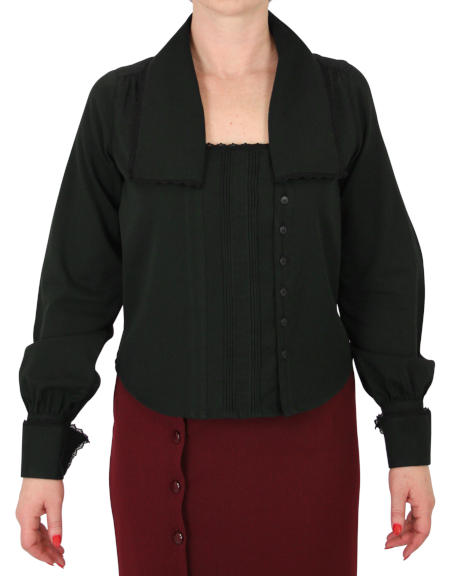 Pauline Blouse - Black