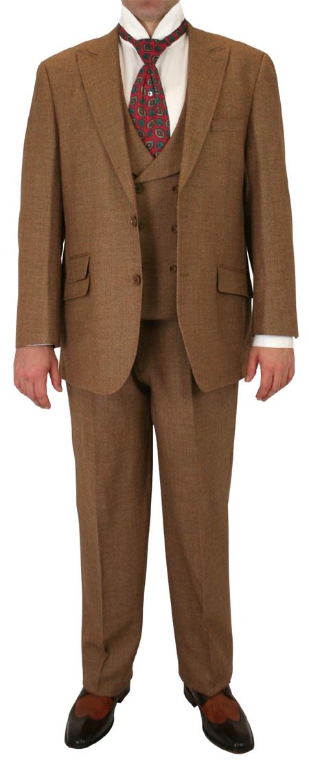 Dearborn Suit - Brown Wool