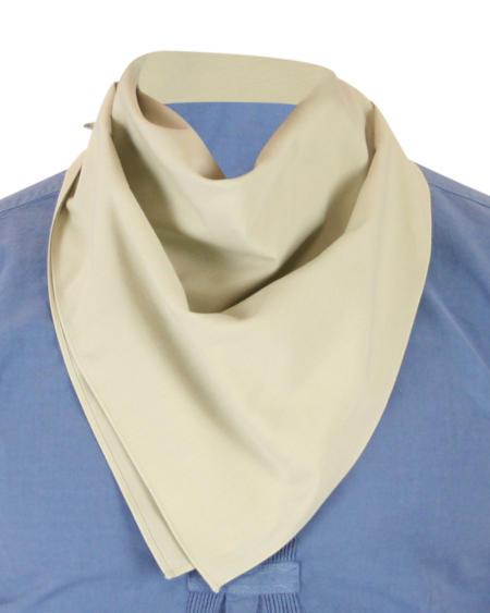 Cotton Neckerchief - Tan