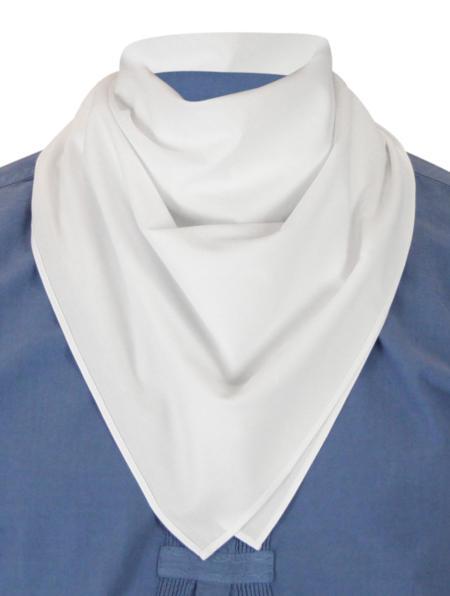 Cotton Neckerchief - White