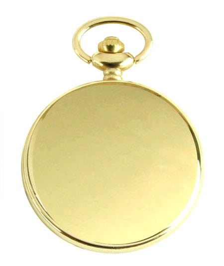 Victorian Mens Gold Alloy Quartz Watch | Dickens | Downton Abbey | Edwardian || Gold Plated Pocket Watch with Chain