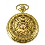 Victorian, Pocket Watches Gold Alloy Mechanical Watches |Antique, Vintage, Old Fashioned, Wedding, Theatrical, Reenacting Costume |