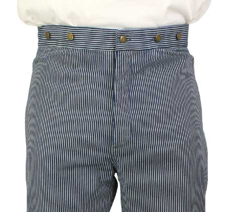 Striped old timey pants
