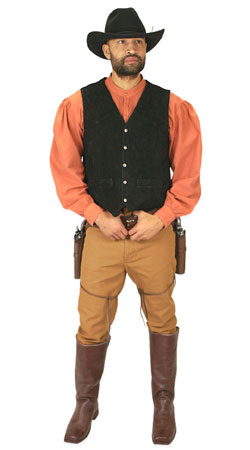 Old West, Mens Outfits Gunslingers,Sheriffs and Soldiers |Antique, Vintage, Old Fashioned, Wedding, Theatrical, Reenacting Costume |