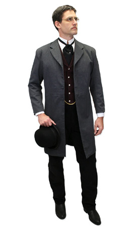 Victorian, Mens Outfits Professionals |Antique, Vintage, Old Fashioned, Wedding, Theatrical, Reenacting Costume |