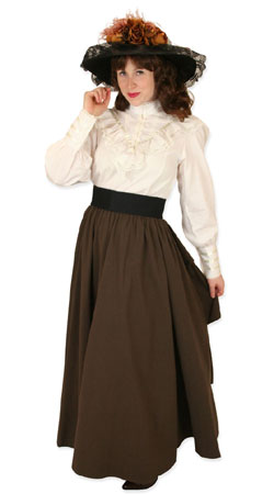 Victorian, Ladies Outfits Professionals,Motorists |Antique, Vintage, Old Fashioned, Wedding, Theatrical, Reenacting Costume |