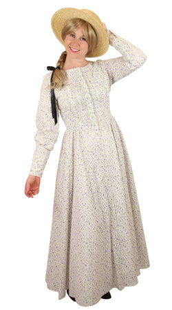 Victorian,Old West Ladies Outfits Townspeople |Antique, Vintage, Old Fashioned, Wedding, Theatrical, Reenacting Costume |
