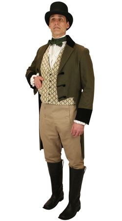 Victorian, Mens Outfits,Quick Ship Outfits Professionals |Antique, Vintage, Old Fashioned, Wedding, Theatrical, Reenacting Costume |