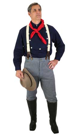 Old West Mens Outfits Frontier Folk |Antique, Vintage, Old Fashioned, Wedding, Theatrical, Reenacting Costume |