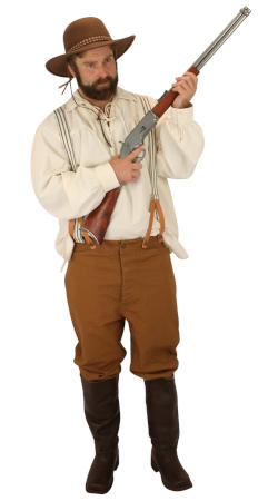 Old West Mens Outfits,Quick Ship Outfits Frontier Folk |Antique, Vintage, Old Fashioned, Wedding, Theatrical, Reenacting Costume |