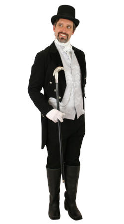 Regency, Mens Outfits Nobility |Antique, Vintage, Old Fashioned, Wedding, Theatrical, Reenacting Costume |