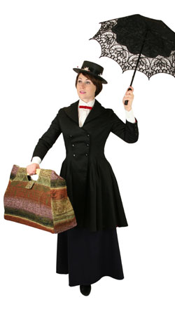 Victorian,Hollywood,Literary,Steampunk Ladies Outfits Townspeople |Antique, Vintage, Old Fashioned, Wedding, Theatrical, Reenacting Costume | Nanny and Chimneysweep,Famous Characters