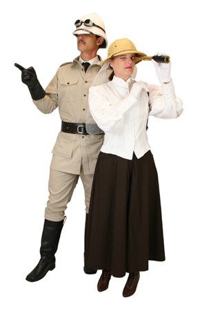 Safari Couple Group Costume