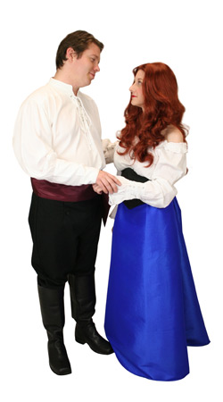 Hollywood,Literary Group Outfits,Quick Ship Outfits Heroes,Nobility |Antique, Vintage, Old Fashioned, Wedding, Theatrical, Reenacting Costume | Mermaid and Prince,Famous Characters