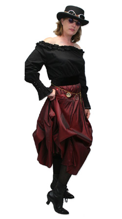 Steampunk, Ladies Outfits,Quick Ship Outfits Scientists,Adventurers |Antique, Vintage, Old Fashioned, Wedding, Theatrical, Reenacting Costume |