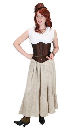 Steampunk, Ladies Outfits Performers |Antique, Vintage, Old Fashioned, Wedding, Theatrical, Reenacting Costume |