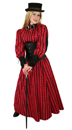 Steampunk, Ladies Outfits Townspeople |Antique, Vintage, Old Fashioned, Wedding, Theatrical, Reenacting Costume |